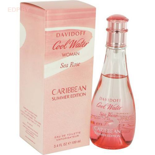 DAVIDOFF - Cool Water Sea Rose Caribbean Summer (L) 100ml туалетная вода