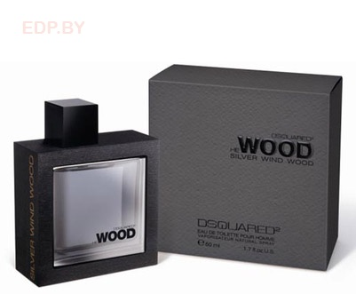 DSQUARED2 - He Wood Silver Wind Wood 50ml (M) туалетная вода